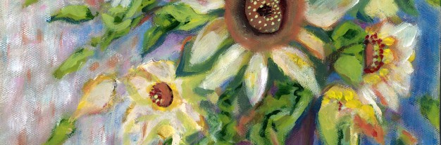 TILE Vase of Sunflowers Karen J Lee .jpg