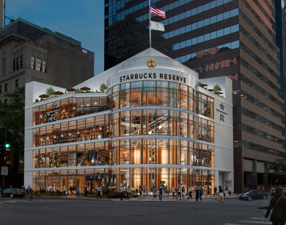 Starbucks Roasting – Massive 43,000 square-foot Chicago Flagship